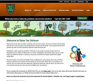 Sales Tax Defense